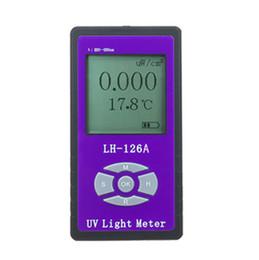 $enCountryForm.capitalKeyWord Australia - Hot sale UV power Meter detector Handheld Glass   Fabric   glasses   UV blocking rate Solar Films UV Light radiation strength tester free sh