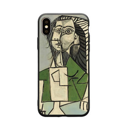 Customized Cell Phone Cases UK - Creative Art student Graffiti Painting Crashproof Back Cover TPU Cell Phone Cases Protective Covers For iPhone X XR XS MAX 6 6S 7 8 PLUS