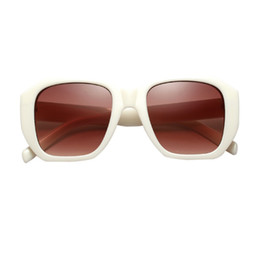 97a577de559 Wholesale Festival Sunglasses UK - Literary Square Shape Clear Colored Lens  Fashion Retro Festival Simple Personality