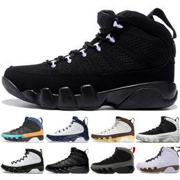 dreams plush 2019 - With Box Hot 9 9s Dream It Do It UNC Mop Melo Mens Basketball Shoes LA OG Space Jam men Bred All Black 2010 Release spor
