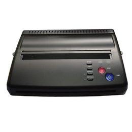 2020 Maquiagem Tattoo Copy Machine lowest price A4 Transfer Paper black Tattoo copier thermal stencil copy Transfer Machine on Sale