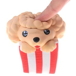 $enCountryForm.capitalKeyWord UK - Kawaii Soft Squishies Dog Poodle Toy Slow Rising Relieves Stress Anxiety Home Decoration Props for Kids Adults