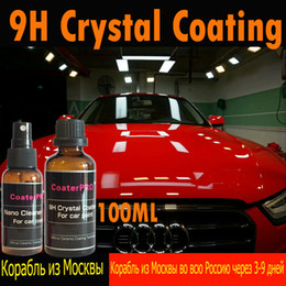 $enCountryForm.capitalKeyWord Australia - glass car CoaterPRO 9H Crystal Glass Hydrophobic Nano Quartz Ceramic Auto Coating Anti scratch Liquid Coat DIY Made in Japan 100ml