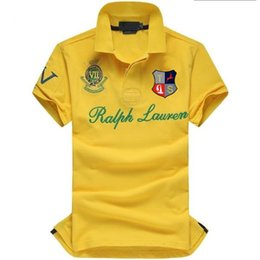 Wholesale american polos resale online – New Summer Men Collar Shirt Men Clothing Solid Mens Polo Shirt USA American Flag Brand Polos Men Short Sleeve Sport Polo Man Coat Drop