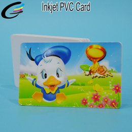 $enCountryForm.capitalKeyWord Australia - 230pcs high id card Printable PVC white card sheet for inkjet printer