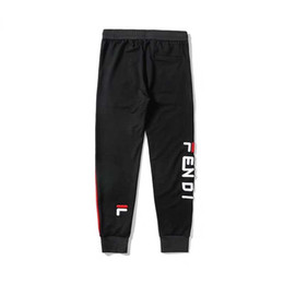 Relax shoes online shopping - new listing designer men s Medusa letter pattern running shoes northern sports pants casual pants fabric elastic waist cargo pants
