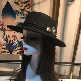 wide brimmed felt hat Australia - 2019 New Fashionable Vintage Women Hat Ladies Floppy Wide Brim Felt Fashion Fisherman hat Accessory 1003003