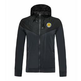 İskoçya milli takım futbol WINDBREAKER ceket Coat, İskoçya spor futbol rüzgarlık ceket Sıcak satış DIY özel Koşu ceketler olabilir