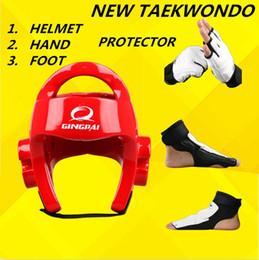 $enCountryForm.capitalKeyWord Australia - Karate Sanda Helmet Taekwondo Kickboxing Head Gear guard Headgear Taekwondo Glove Fighting Hand Protector TKD Foot Protector KTA