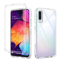 Heavy duty cases online shopping - For Samsung A50 Case Clear In Heavy Duty Full Body Protection Cover Phone Case for Samsung Galaxy A30 A20