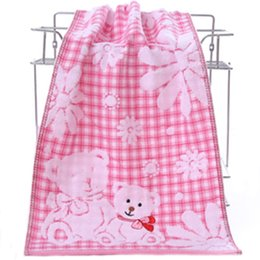 Compress Cartoon Towel Australia - 2019New qualified Hand Towel Cartoon Bear Bath Towel Cotton Face Strong Water Absorption Compressed Soft Towels
