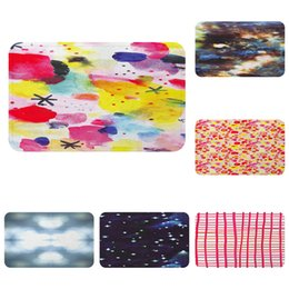$enCountryForm.capitalKeyWord Australia - Watercolors Galaxy Pattern Cool Mat Bath Carpet Decorative Anti-Slip Mats Room Car Floor Bar Rugs Door Home Decor Gift