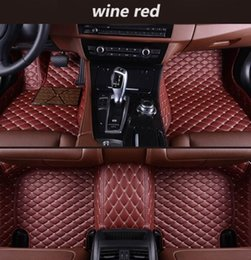 $enCountryForm.capitalKeyWord Australia - Mercedes-Benz GLC AMG 2017-2018 anti-slip mat luxury surrounded by waterproof leather wear-resistant car floor mat with logo car mats rubber