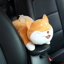 $enCountryForm.capitalKeyWord Australia - Car Paper Holder Decoration Home Tissue Box Cartoon Hanging Cute Animal Headrest Office Universal Interior Plush Napkin
