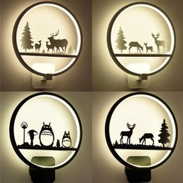 children room wall lamp Australia - Northern Europe Dining Room Bedroom Bedside Led Wall Lamp Aisle Stairs Study Simple Led Lighting Children Room Creative Lamps
