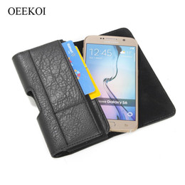 leather belt holster case NZ - wholesale Stone Pattern Belt Clip Pouch Holster Case for Wiko Y70 Y80 Jerry 4