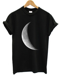 Moon Models UK - CLEARANCE SALE!! Half Moon Hipster T Shirt Fashion Tumblr Style !!CHEAP!! CEM2 Classical Top Tee Basic Models T-shirt Hip Hop Style Tops