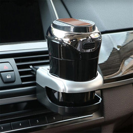 Wholesale Car Cup Holder Car Air Vent Cup Mount Universal Smart Drink Clip on Holder Soft Drink Water Coffee Bottle Stand Cooler Holder