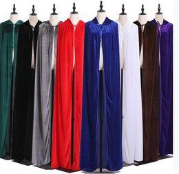 $enCountryForm.capitalKeyWord Australia - Unisex clothing multicolor flannel long cloak Halloween cloak stage costume hooded jacket