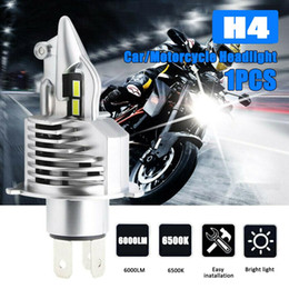 motorcycle hid bulbs UK - 1PCS H4 9003 HB2 LED Bulb Hi Lo Beam HID White Car Motorcycle Headlight High Power 6500K Fog Light Driving Bulb