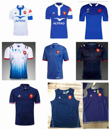 French shorts online shopping - New Francees Super Rugby Jerseys Francees Rugby Shirts Maillot de Foot French BOLN Rugby shirt size S XL
