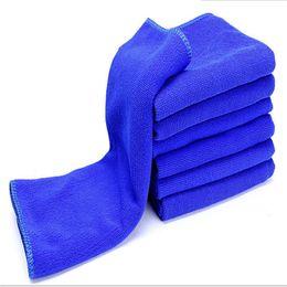 $enCountryForm.capitalKeyWord Australia - Car Wash Towel 6Pcs Absorbent Car Wash Towel Soft Cleaning Auto Care Microfiber Cleaning Towels Blue 30cm*30cm jy29