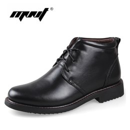 $enCountryForm.capitalKeyWord Australia - Genuine Leather Men Boots, Handmade Super Warm Men Winter Shoes,High Quality Ankle Boots For Autumn And Winter