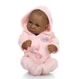 Realistic Girls Toys Australia - Kids Toys Soft Silicone Realistic With Clothes Girls Reborn Baby Doll New Fashion Kids Toys Baby Doll