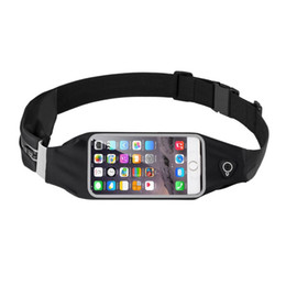 $enCountryForm.capitalKeyWord UK - Outdoor Sport Running Waist Belt Phone Case Bags For Iphone   Sony   Huawei Waterproof Wallet Handbag Purse