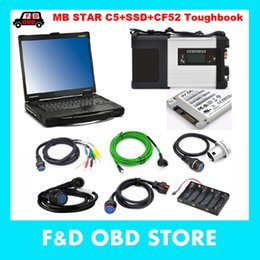 mb star sd compact Australia - mb star c5 sd connect + V2018.12 software 240gb ssd MB SD C5 Connect Compact 5 Star Diagnosis + CF52 CF-52 Toughbook