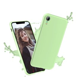$enCountryForm.capitalKeyWord Australia - Candy Color Matte Phone Case For iPhone 6s Plus 6 7 8 plus For iPhone XS MAX X XR Simple Solid Soft TPU Cases Back Cove
