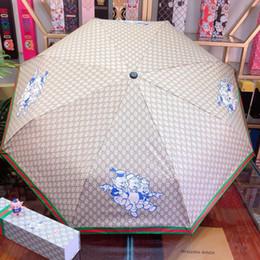 $enCountryForm.capitalKeyWord Australia - Household Fully Automatic Umbrellas Carbon Fiber Stand Mesh printed Unisex Umbrellas High Insulation Porperty Summer Outdoor Sunshade