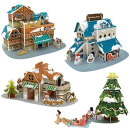 $enCountryForm.capitalKeyWord Australia - Children's toys, creative three-dimensional paper puzzle, Santa Claus children's educational puzzle, insert toys, welcome to order