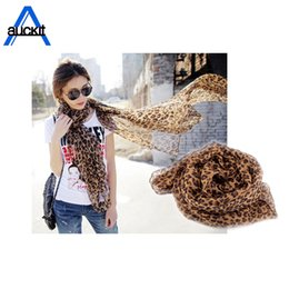 beachwear wraps NZ - Coffee Black Leopard Print Square Scarves Printed 2018 New Design Crepe Satin Silk Winter Ladies Scarves Wraps