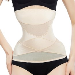 $enCountryForm.capitalKeyWord Australia - Waist Trainer binders slimming belt shapers modeling strap corset body shaper shapewear slimming underwear faja corset for slim