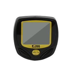 Bicycle Wireless Lcd Australia - Portable Multifunction Wireless Waterproof LCD Digital Cycle Bike Computer Bicycle Speedometer Odometer Green Backlight black LJJZ68
