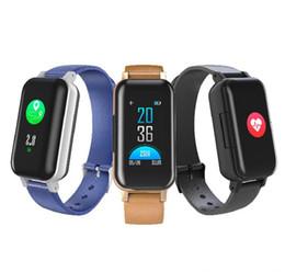 $enCountryForm.capitalKeyWord UK - T89 TWS Smart Binaural Wireless Bluetooth 5.0 Headphones Fitness Bracelet Heart Rate Monitor Smart Watch Sport Smartwatch