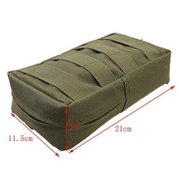 China Molle Tactical Magazine Dump Drop Pouch Military Vest Outdoor First Aid Bag 1Pcs Inside Of The Waterproof Coating #108998 cheap magazine dump pouch suppliers