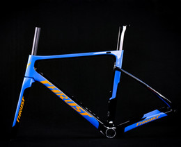 $enCountryForm.capitalKeyWord Australia - Road Carbon Frame 2019 Carbon Rracing Bike Frame THRUST New Design Blue Carbon Fiber T1000 BSA BB30 PF30 System for Bicycle