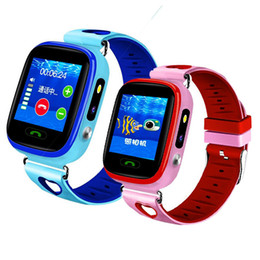 Waterproof Wrist Watches Australia - Y59 Children Telephone Location Wrist Watch Swimming Intelligence Wrist Watch Mobile Phone Waterproof Color Screen Touch Gift Factory