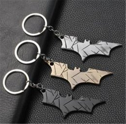 superhero keychains UK - 19-style Avengers Captain America Keychain Superhero Star Shield Pendant Keyring Car Key Chain Accessories Batman Marvel Key Chain 07 jssl01