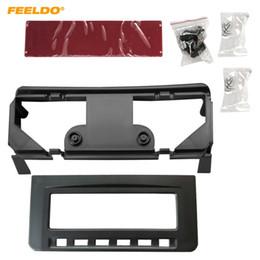 Radio fascias online shopping - FEELDO Car Audio Radio Dash Fascia Frame For Misubishi L200 Triton Pajero Sport II Challenger Stereo Frame Installation Trim Kit