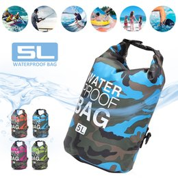 $enCountryForm.capitalKeyWord Canada - 5L Lightweight Foldable Outdoor Waterproof Dry Bags Swimming Bag Water Resistance for Boating Kayaking Camping Rafting #28937