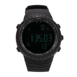 3d glasses display online shopping - Fashion Casual D Digital Step LCD display TPU Strap m Waterproof Watch Outdoor Sports Waterproof Electronic Wrist Watches