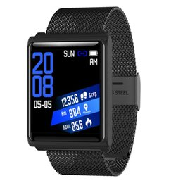 $enCountryForm.capitalKeyWord UK - 2018 Hot N98 Sports Smart Bracelet 1.3 Inch IPS Screen Display IP67 Waterproof Intelligent Watch Real-time Heart Rate Monitor