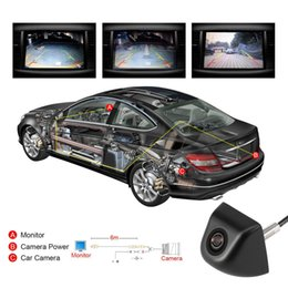 Light dvd online shopping - Universal Black Light weight Easy Install Car Rear View Camera Glass Lens Auto Reverse Backup Camera Auto DVD Parking Monitor