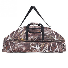 Shoulder Straps Backpack NZ - Multi-functional Hunting Bags Tactic Military Backpack Adjustable Shoulder Strap Bow Pouch Outdoor Shooting Barrel Handbag #234478