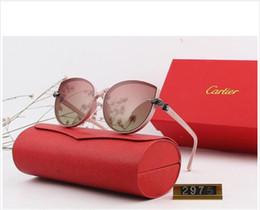 Womens Polarized Sun Glasses Australia - Designer Polarizerd Sunglasses for Mens Glass Mirror Gril Lense Vintage Sun Glasses Eyewear Accessories womens with box 2975#