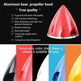 planes wing Australia - GEMFAN Aluminum base plastic propeller hood 38 45 51 57mm For Fixed wing Electric oil-driven plane Fairing