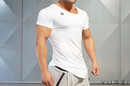 T Shirt Male Body Australia - Doctor Muscle Fitness Brothers Male Sports Outdoor Running Training T-shirt Tight Body Elasticity Ventilation Short Sleeve Wholesa gym tshir